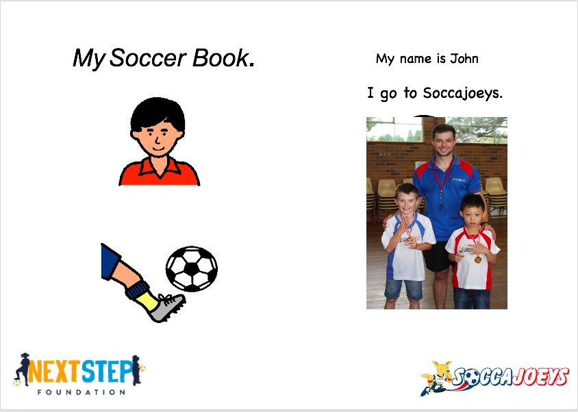 Get your very own personalised My Soccer Book today!